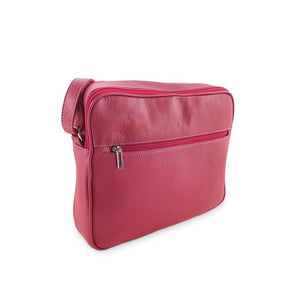 Francesca Italian Handbag Collection, Crossbody purse in Red at LUCA Boutique (2552732909653)