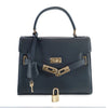 Susan Grace Small Italian Leather Bag, front view - at LUCA Boutique (2524650831957)