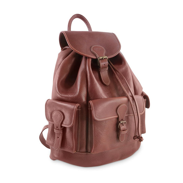 Explorer Backpack - Italian vegetable tanned leather (2483120603221)