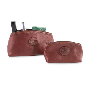 Trousse Set in Italian Vacchetta leather (2483113918549)