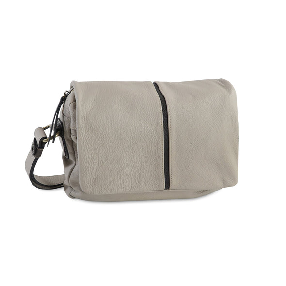 Easy Italian Leather Messenger