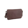 Amoret Italian Leather Bag Collection in Brown - exclusively at LUCA Boutice