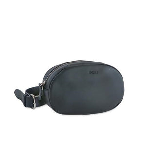 Billy Leather Fanny Pack with removable shoulder strap at LUCA Boutique - front