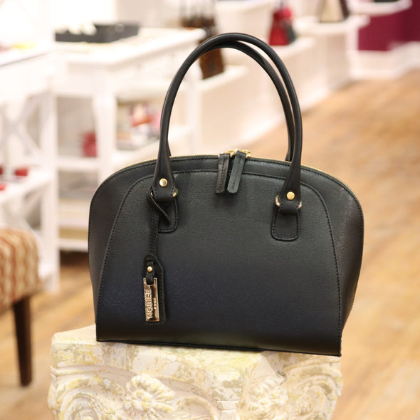 Aurora Collection Italian Leather Satchel (2493313810517)