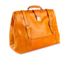 Amerigo Italian Leather Handbag in Yellow - exclusively at LUCA Boutique