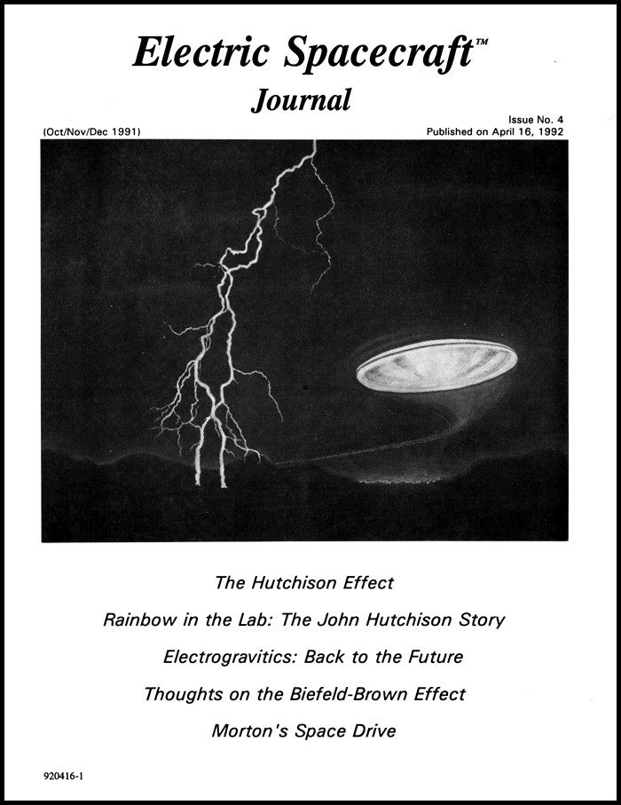 Electric Spacecraft Journal Issue #4