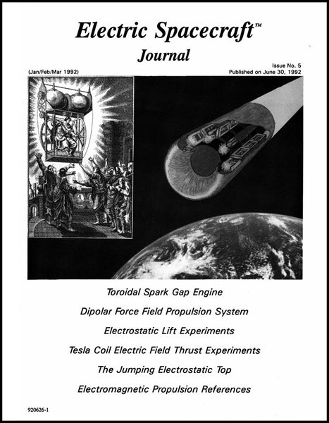 Electric Spacecraft Journal – Charles A  Yost Research