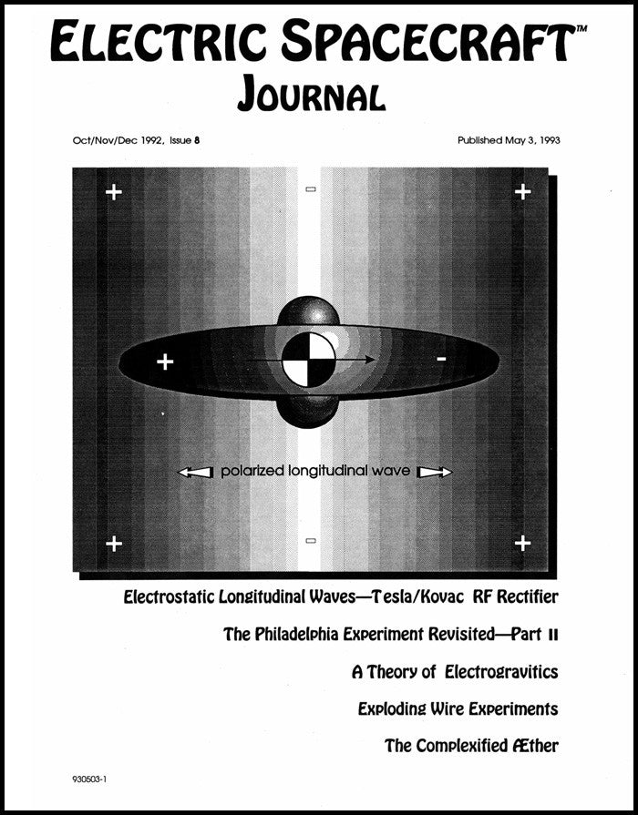 Electric Spacecraft Journal Issue #8