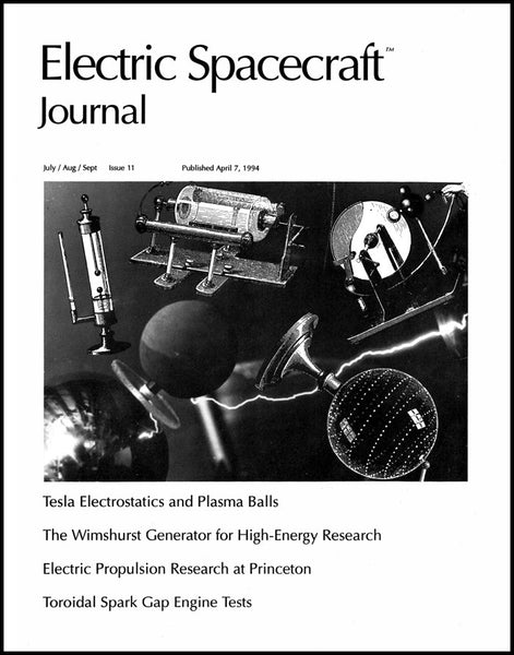 Electric Spacecraft Journal Issue #11