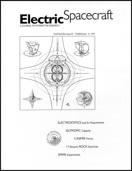 Electric Spacecraft Journal #20
