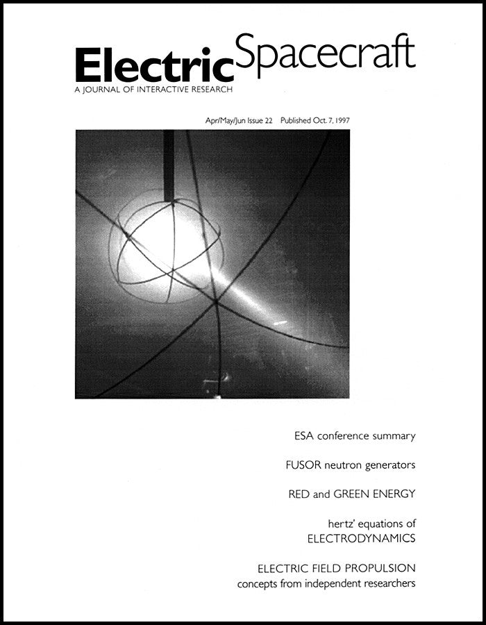 Electric Spacecraft Journal Issue #22