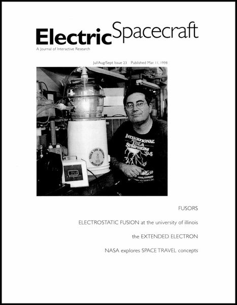 Electric Spacecraft Journal Issue #23