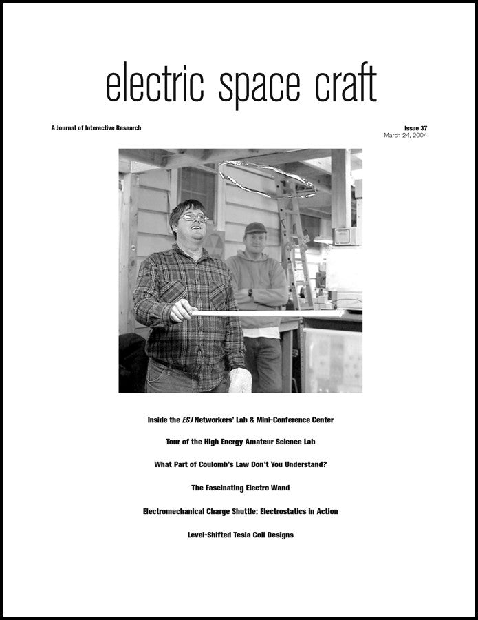Electric Spacecraft Journal #37