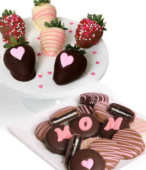 Mother's Day Chocolate Covered Strawberries & OREO® Cookies - Golden Edibles