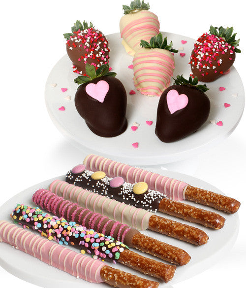 Mother's Day Chocolate Covered Strawberries & Pretzels - Chocolate Covered Company®