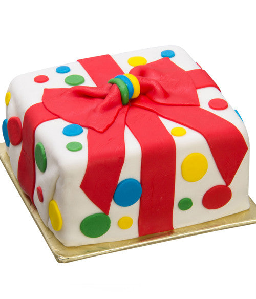Artisan Happy Birthday Cake - Golden Edibles