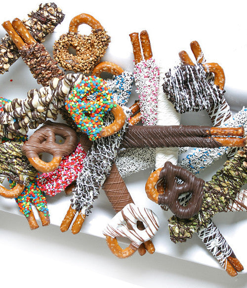 Ultimate Design Variety Pretzel Assortment - 24pc - Chocolate Covered Company®