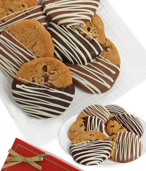 Gourmet Belgian Chocolate Dipped Cookies - Chocolate Covered Company®