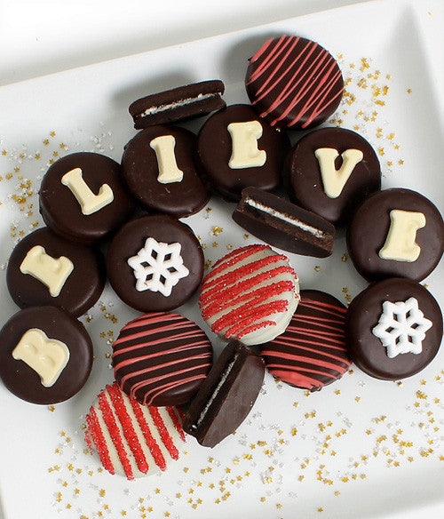 BELIEVE Belgian Chocolate Covered OREO® Cookies Gift - 14pc - Chocolate Covered Company®