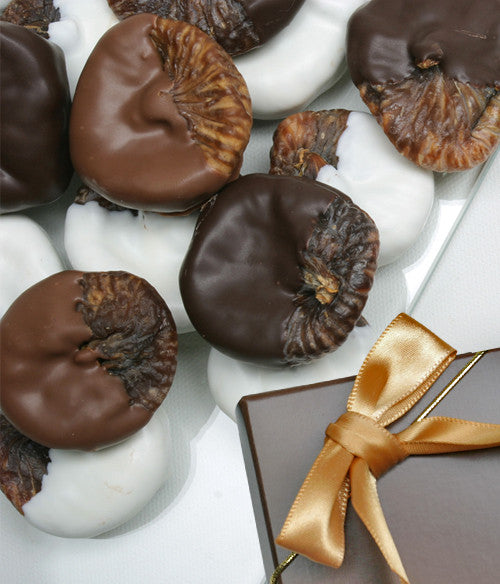 Belgian Chocolate Covered Figs - 1 Lb - Chocolate Covered Company®
