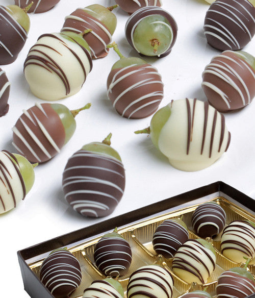 Chocolate Covered Grapes - Golden Edibles