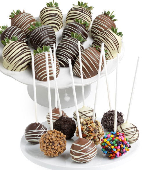 Classic Chocolate Covered Strawberries & Cake Pops - Chocolate Covered Company®