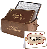 Card with Re-usable Gourmet Cooler Bag - Chocolate Covered Company®