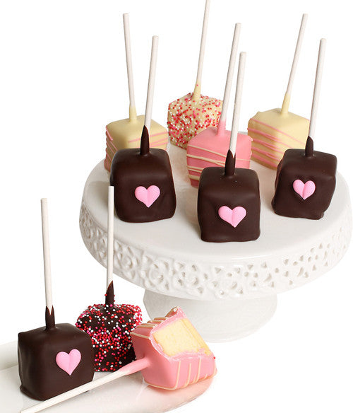 Mother's Day Chocolate Dipped Cheesecake Pops - 10pc - Golden Edibles