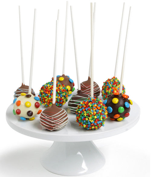 Birthday Chocolate Dipped Cake Pops - Golden Edibles