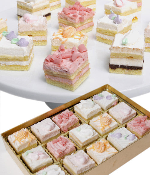 Spring Petit Fours - 15pc - Golden Edibles