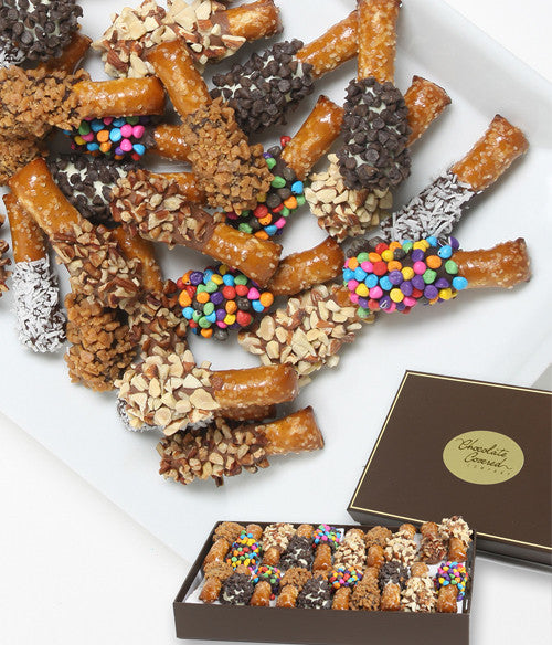 Ultimate Chocolate Covered Mini-Pretzel Gift - 24pc - Chocolate Covered Company®