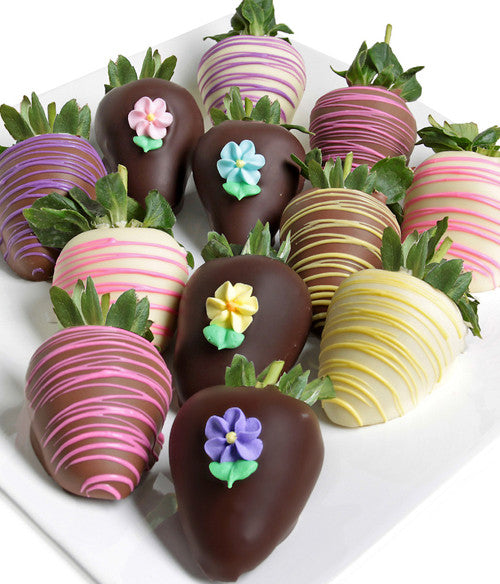 Spring Chocolate Covered Strawberries - Chocolate Covered Company®