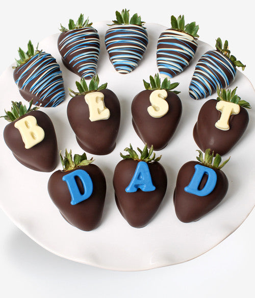 """BEST DAD"" Berry-Gram® - Chocolate Covered Company®"