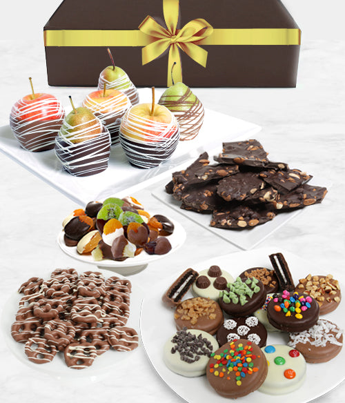 Grand Belgian Chocolate Covered Fruit Gift Box