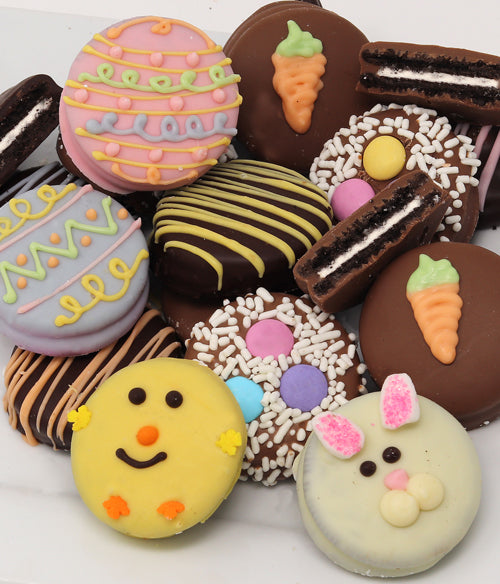 Easter Fun Belgian Chocolate-Dipped OREO® Cookies Gift - 12pc