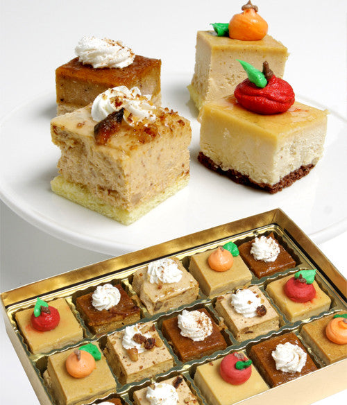 Fall Petit Fours - 15pc - Golden Edibles