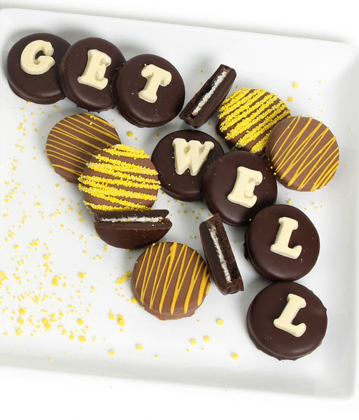 GET WELL - Decorated Chocolate-Dipped OREO® Cookies Gift - Golden Edibles