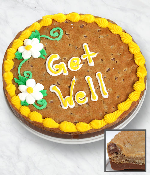 GET WELL Cookie Bark Cake - Belgian Chocolate - Chocolate Covered Company®