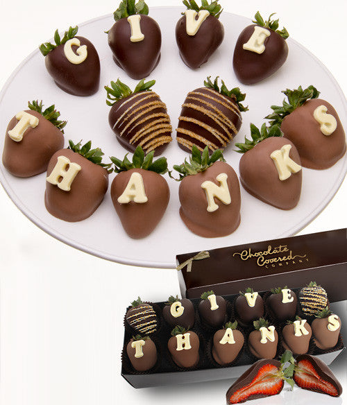 GIVE THANKS Berry-Gram® - Chocolate Covered Company®