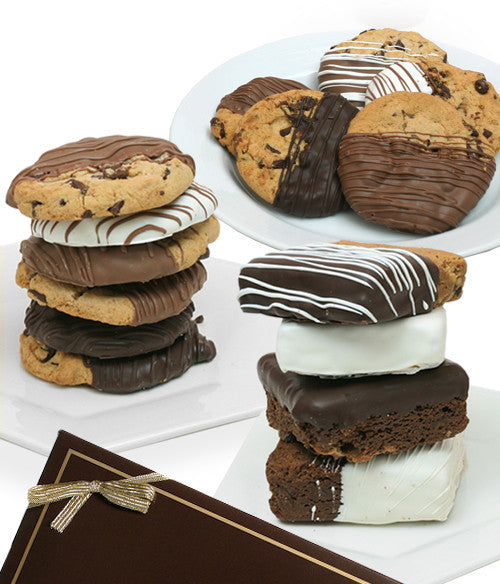 Gourmet Cookies & Jumbo Dipped Brownies - Chocolate Covered Company®
