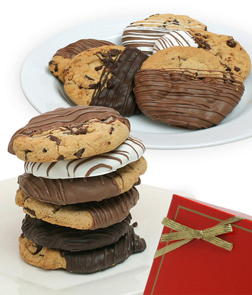 Chocolate Covered Company Gourmet Chocolate Dipped Cookies