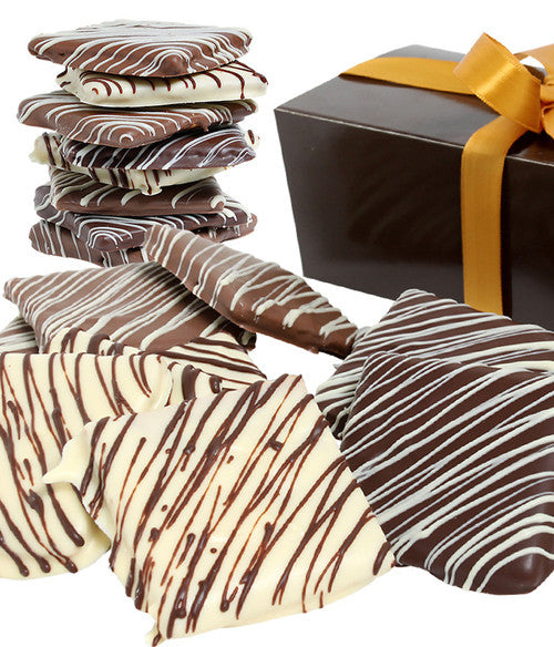 Classic Belgian Chocolate Covered Graham Crackers - Chocolate Covered Company®
