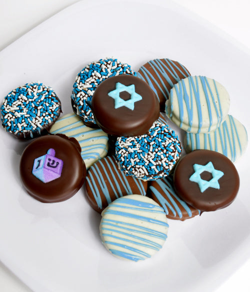 Hanukkah Chocolate Covered OREO® Cookies Gift - 12pc