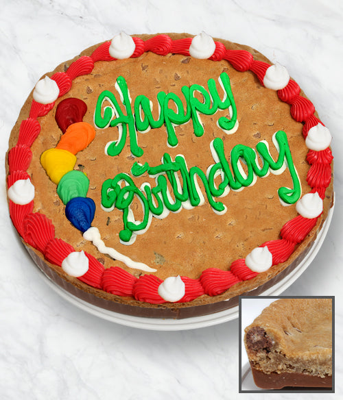 BIRTHDAY Cookie Bark Cake - Belgian Chocolate - Chocolate Covered Company®