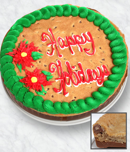 HAPPY HOLIDAYS - Cookie Bark Cake - Belgian Chocolate - Chocolate Covered Company®