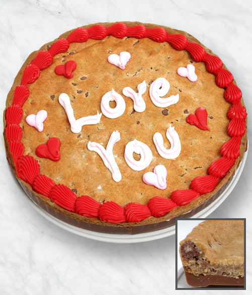 LOVE YOU Cookie Bark Cake - Belgian Chocolate - Chocolate Covered Company®