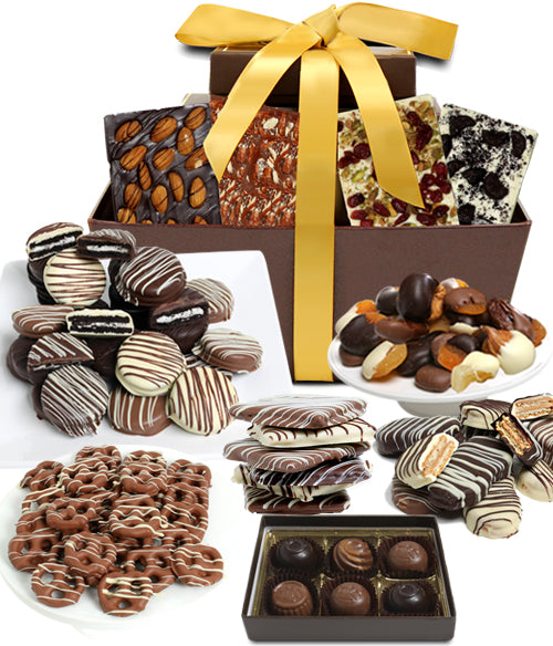 Mega Delectable Artisan Crafted Gift Basket - Chocolate Covered Company®