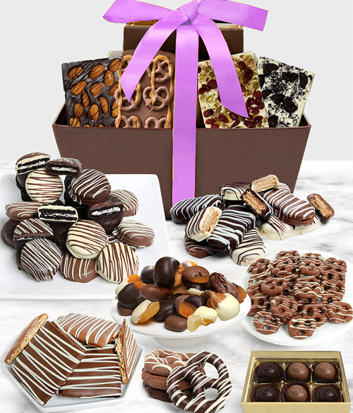 MOTHER'S DAY -  Mega Delectable Artisan Crafted Gift Basket