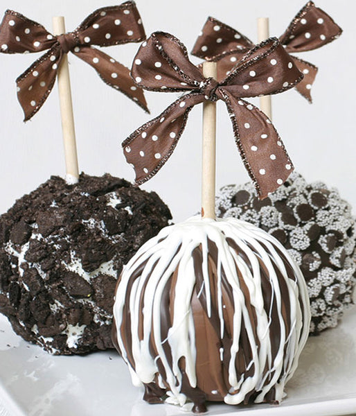 Chocolate Lover's Caramel Apples - Golden Edibles