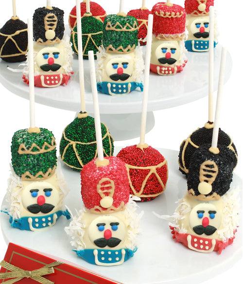 Nutcracker Chocolate Dipped Cakepops -8 Piece - Chocolate Covered Company®